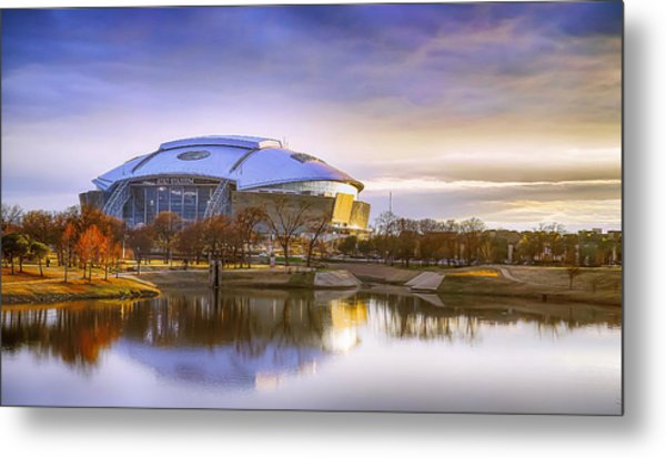 Dallas Cowboys Stadium Arlington Texas Metal Print