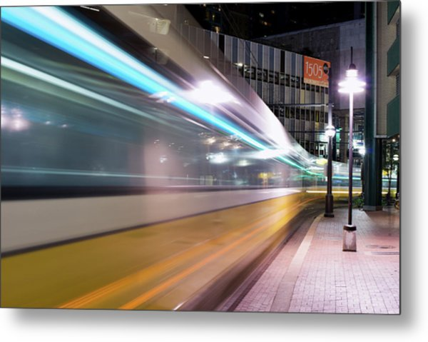 Dallas Dart Motion 012618 Metal Print