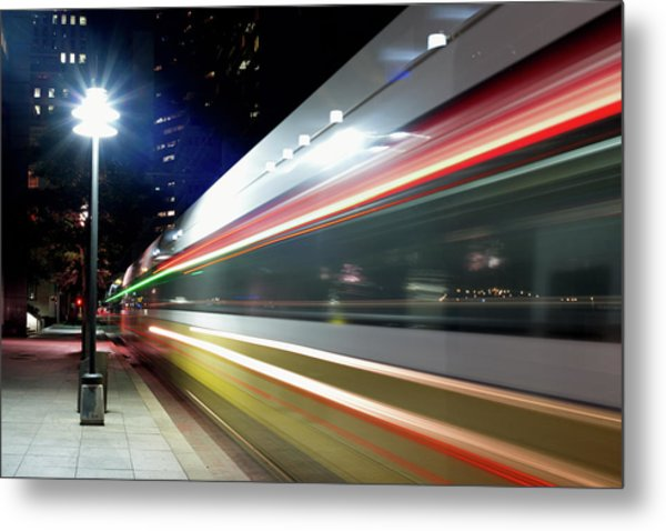 Dallas Dart Train 012518 Metal Print