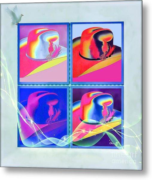 Metal Print featuring the digital art Dallas by Eleni Mac Synodinos