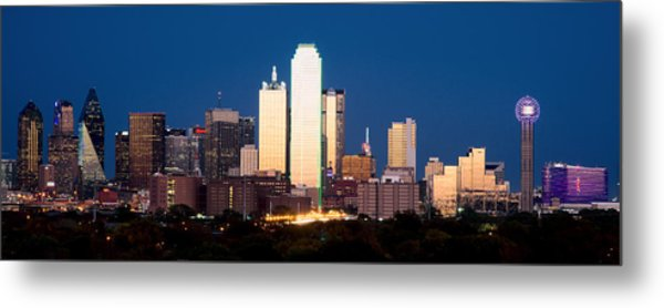 Dallas Golden Pano Metal Print