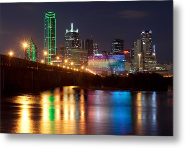 Dallas Reflections Metal Print