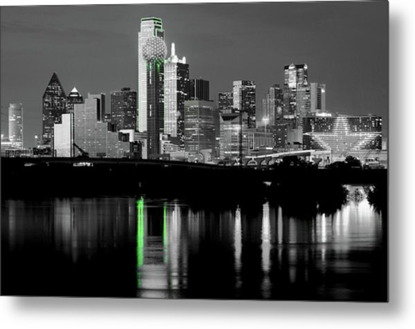Dallas Skyline Gr91217 Metal Print