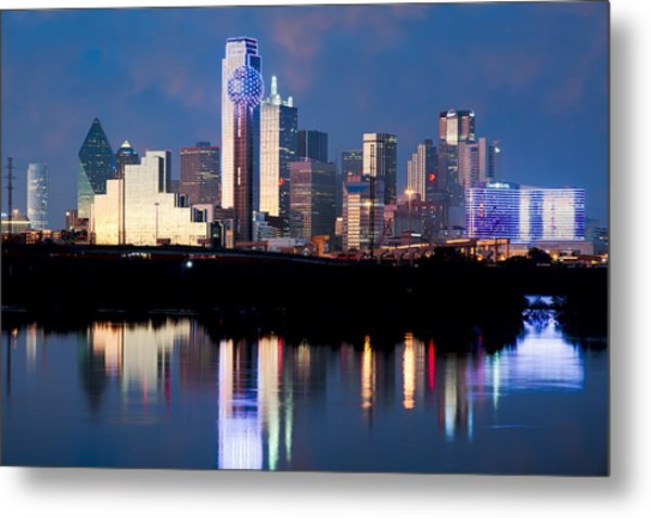 Dallas Skyline May 2015 Metal Print