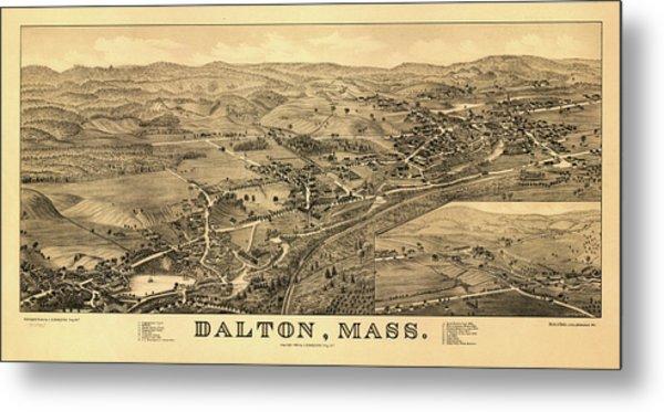 Dalton, Mass. Metal Print