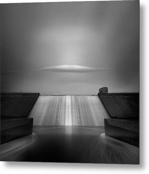 Dam Cloud Metal Print