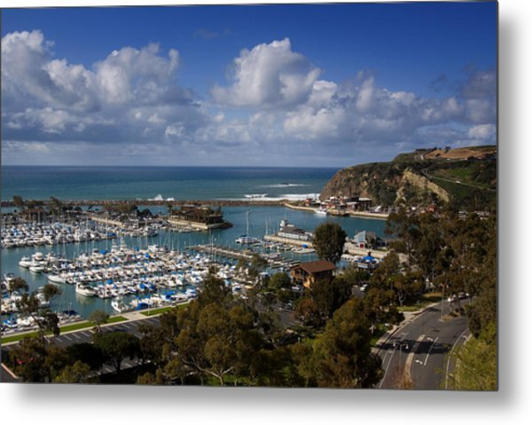Dana Point Harbor California Metal Print