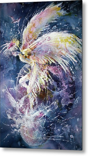 Dance In Flight Metal Print