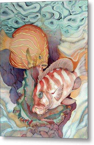 Dance Macabre Metal Print by Liduine Bekman