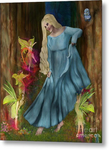 Dance Of The Fairies Metal Print by Sydne Archambault