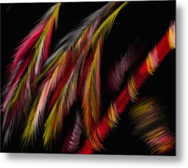 Dance Of The Night Metal Print by Michelle Dick