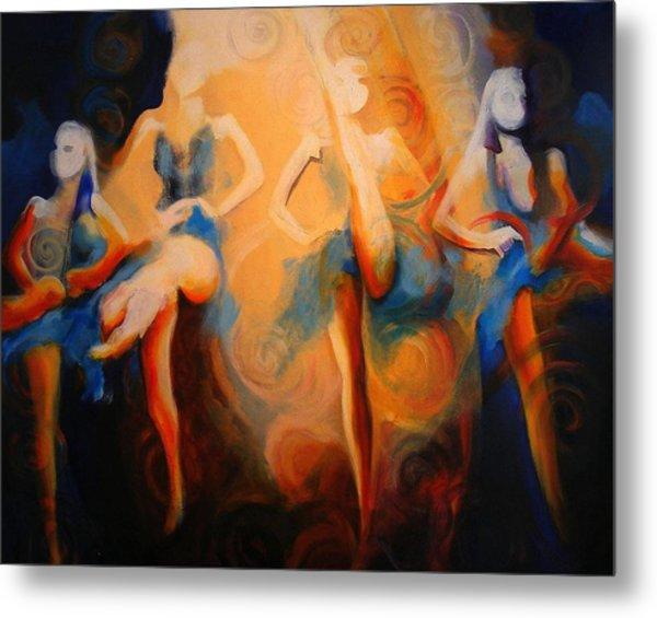 Dance Of The Sidheog Metal Print
