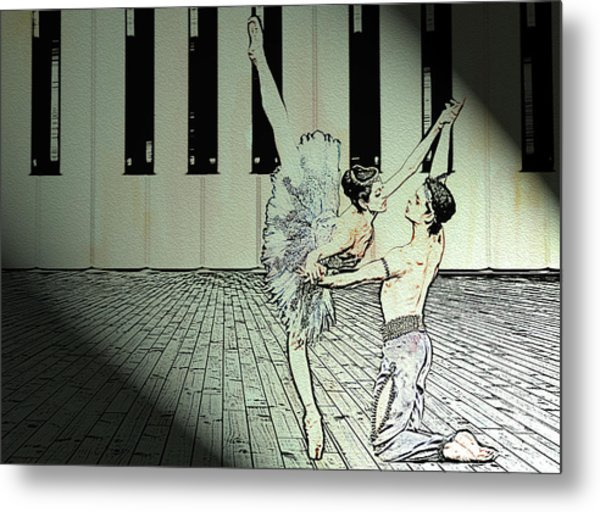 Dance To Express Your Thoughts Metal Print