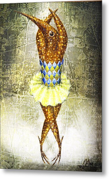 Dancer 2  Metal Print by Lolita Bronzini