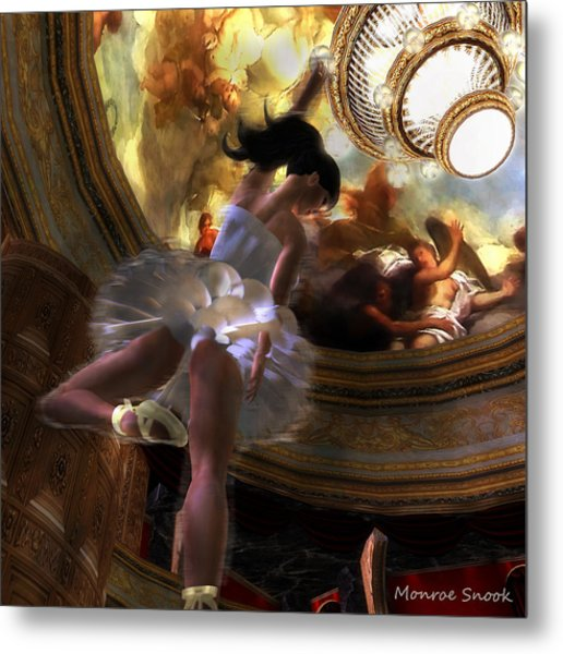 Dancer Metal Print by Monroe Snook