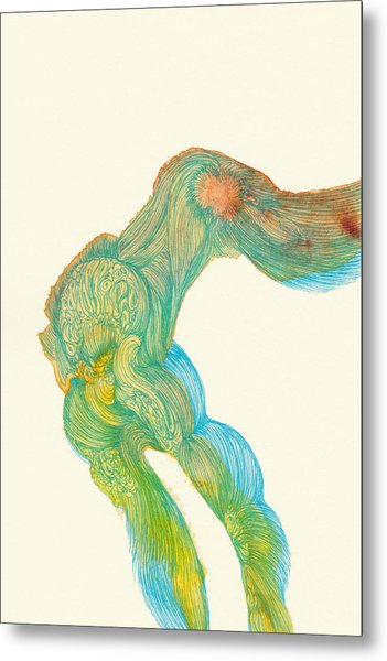 Dancer- #ss14dw039 Metal Print by Satomi Sugimoto