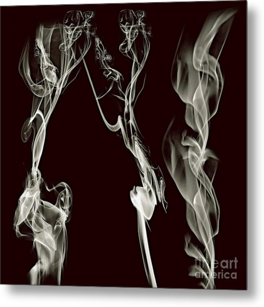 Dancing Apparitions Metal Print