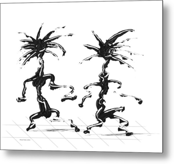 Dancing Couple 5 Metal Print