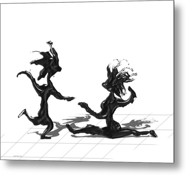 Dancing Couple 9 Metal Print