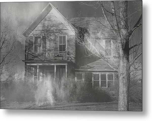 Dancing Ghosts Metal Print