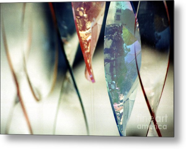 Dancing Glass Metal Print
