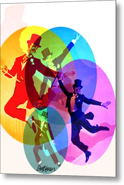 Dancing On Air Metal Print