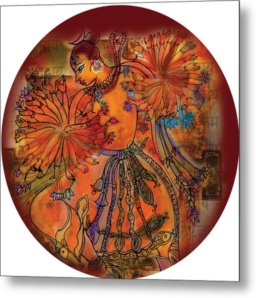 Dancing Shiva Metal Print