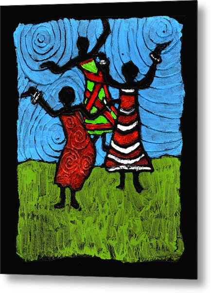 Dancing So Good I Started To Fly Metal Print