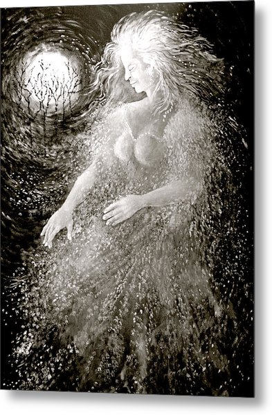 Dancing Through The Darkness Metal Print