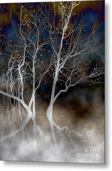 Dancing Tree Altered Metal Print