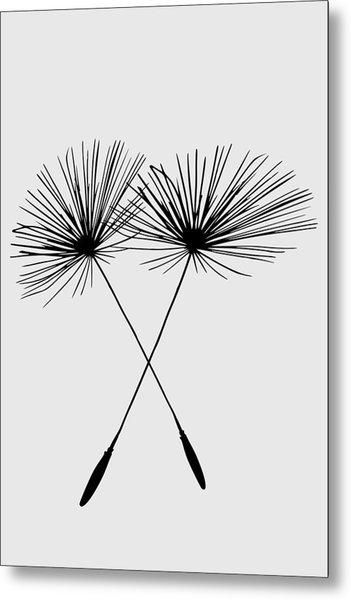 Dandelion Duo  Metal Print