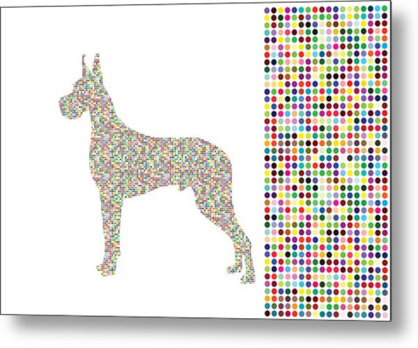 Dane Dots Metal Print