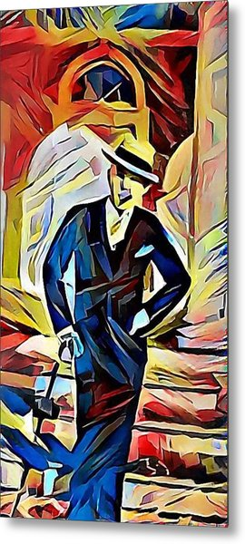 Dapper Dude Metal Print