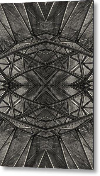 Dark Abstract Metal Print by Robert Ullmann