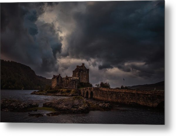 Metal Print featuring the photograph Dark Clouds #h2 by Leif Sohlman