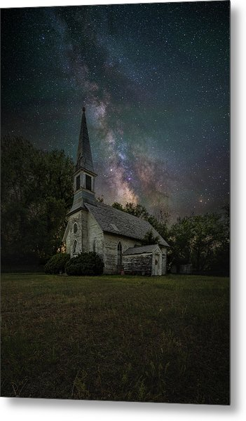 Metal Print featuring the photograph Dark Enchantment  by Aaron J Groen
