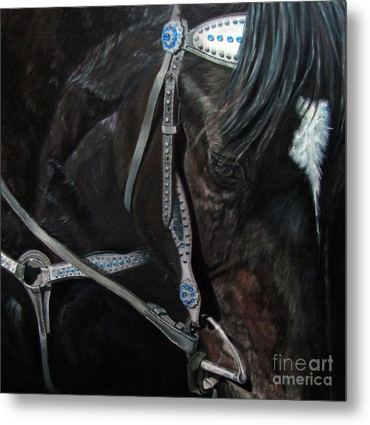 Dark Gem Metal Print