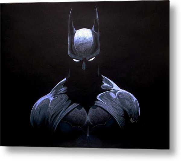 Dark Knight Metal Print