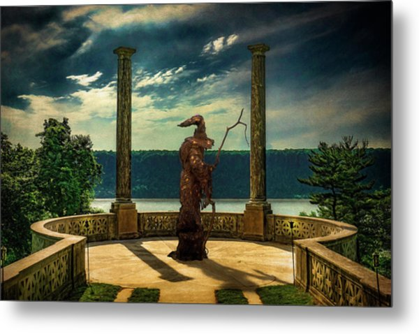 Metal Print featuring the photograph Dark Magic At Sunset By The Hudson by Chris Lord