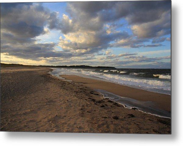 Dark Skies And Sea - Nova Scotia Seascape Metal Print