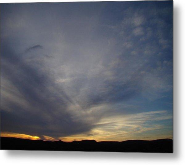 Dark Sunset Four Metal Print by Ana Villaronga