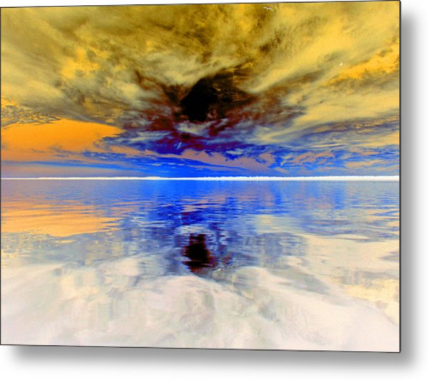 Dark Sunset Metal Print by James Granberry