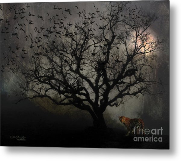 Dark Valley Metal Print