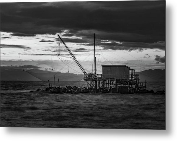 Dark Waters Metal Print