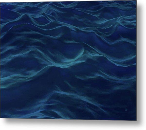 Dark Waves Metal Print by Menega Sabidussi