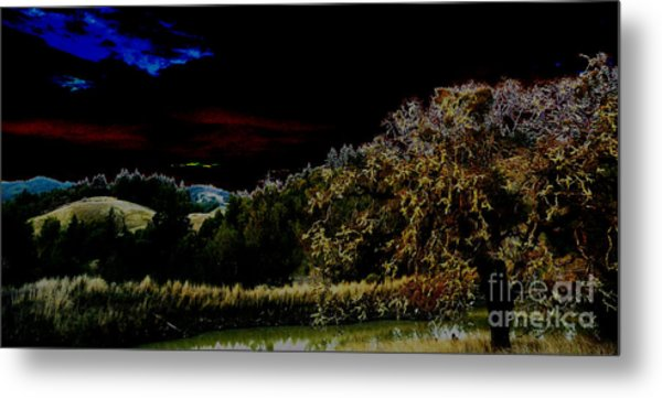 Darkness At The Edge Of Dawn Metal Print by JoAnn SkyWatcher