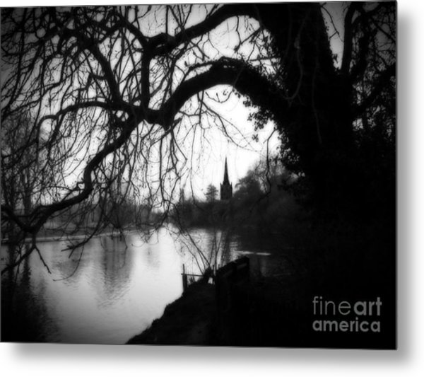 Darkness Looms Over The Avon Metal Print