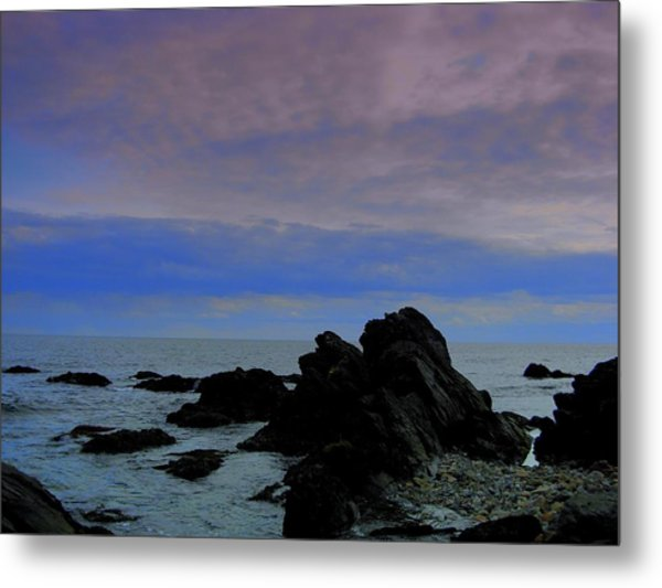 Darkness Of The Day Metal Print by Amanda Vouglas