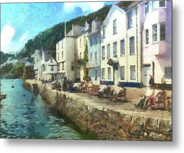 Bayards Cove Dartmouth Devon  Metal Print