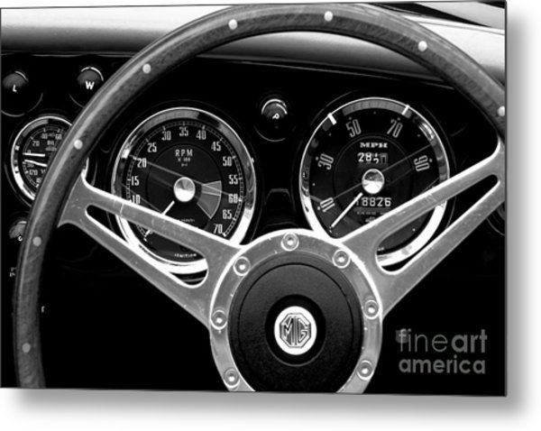Metal Print featuring the photograph Dashboard by Stephen Mitchell